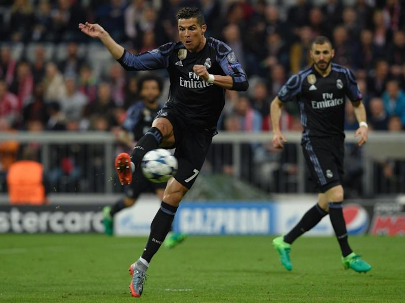 Ronaldo's volley levelled the scores (Getty)