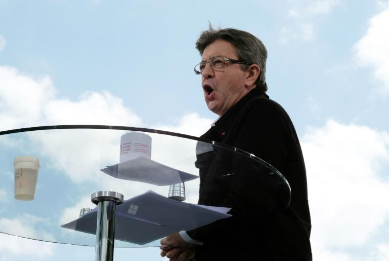 French presidential election candidate for the far-left coalition La France insoumise Jean-Luc Melenchon took swipes at rival conservative former prime minister Francois Fillon in a recent speech