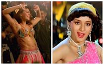 That the makers of Baaghi 2.0 even dared to remake such a classic number is shocking - what is even more depressing, though, is the level to which the remade song stooped. The original masterpiece from the 1988 Tezaab, had Madhuri Dixit's iconic dance movements set against Alka Yagnik's and Amit Kumar's melodious voice. In Baaghi 2, the song was downgraded into a pure item number, featuring Jacqueline Fernandez who could not hold a candle to Madhuri's moves. The infuriated director of Tezaab, N Chandra even likened the remixed number to a sex act.
