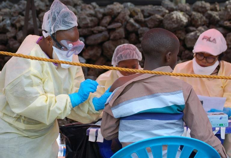 More than 250,000 people have already received doses of the first anti-Ebola vaccine (AFP Photo/Augustin WAMENYA)