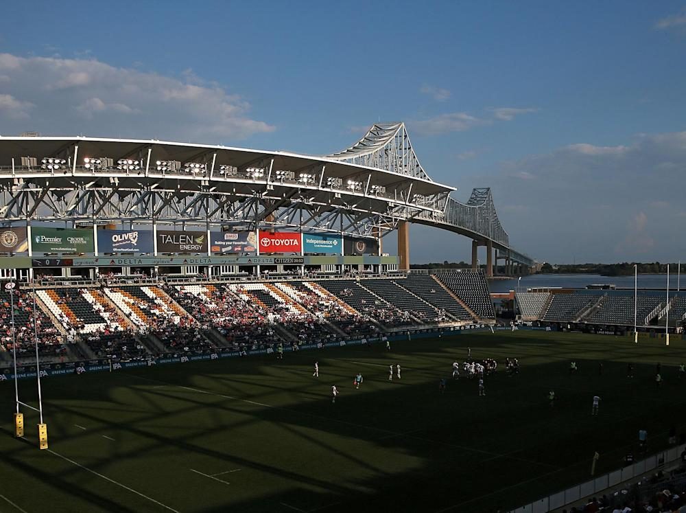 A crowd of only just over 6,000 watched on in Philadelphia: Getty