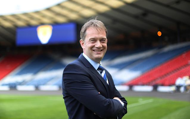 """Ian Maxwell will bring his experience as a professional footballer and coach to improve the disciplinary process in Scotland in his capacity as chief executive of the Scottish Football Association. Maxwell's pedigree as a player with Ross County, St Johnstone, St Mirren and Partick Thistle – plus his later involvement as assistant manager, managing director and chief executive of the Firhill Jags – commended him to the SFA's board. """"That's where the experience I've got from being a player, from a coach and from being on the board at a club comes in,"""" Maxwell said. """"With the likes of the disciplinary process, you think, 'As a player you don't know that if you do that, that is what happens. You think that if that was explained slightly differently or if the process was tweaked a little bit, it would be improvements as opposed to fixing things which are broken. """"I'm not going to get in to the details of things at this stage. With my experiences, there are some bits I've been more involved with than others. It's about going back to that experience when I'm talking to staff and saying, 'Have you thought about that?' """"I'd imagine there are perfectly good reasons we can't do it the way I'd want it done. That's how things work. There are unintended consequences and when you try and move one bit, another bit shifts and then that bit shifts, but once I have that understanding, it's about tweaking things moving forward to improve it for everyone."""" Maxwell was unveiled in his new position earlier this week Credit: Getty Images Maxwell did not fly out with the Scotland squad, who will play friendlies against Peru in Lima and Mexico in the Azteca Stadium, choosing instead to engage with the tasks that have accumulated at Hampden Park since the departure of his predecessor, Stewart Regan, at the start of February. These include the future of the national stadium, the direction of the SFA's football development programme, Project Brave, and the organisation of new deals for sponsor"""