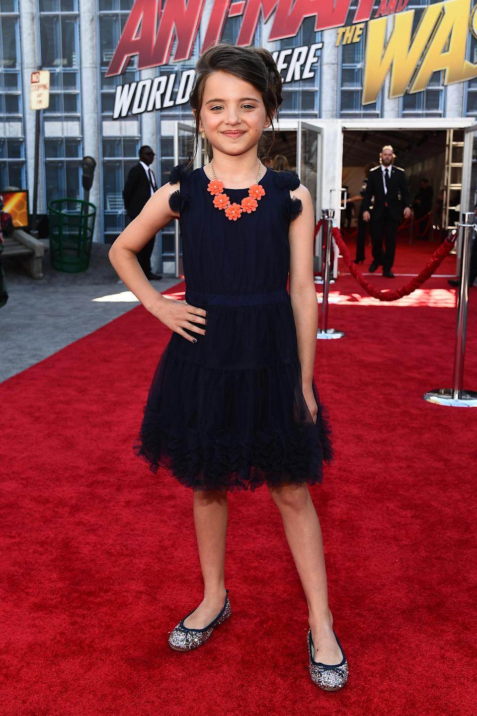 Madeleine McGraw appeared in 'Ant-Man and the Wasp'