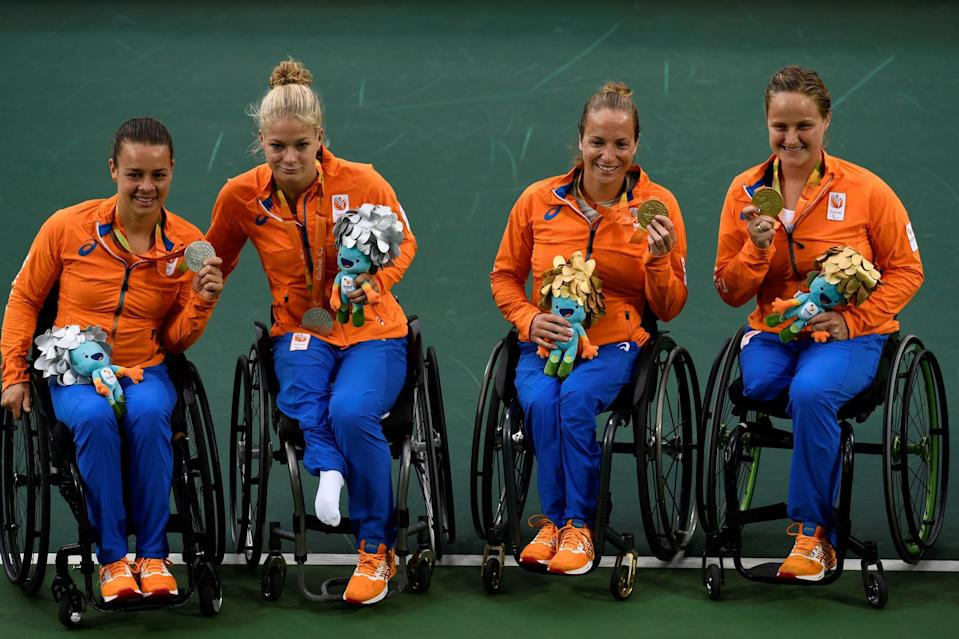The Silver Medal That de Groot Won in Rio Was Actually With Vergeer's Old Doubles Partner