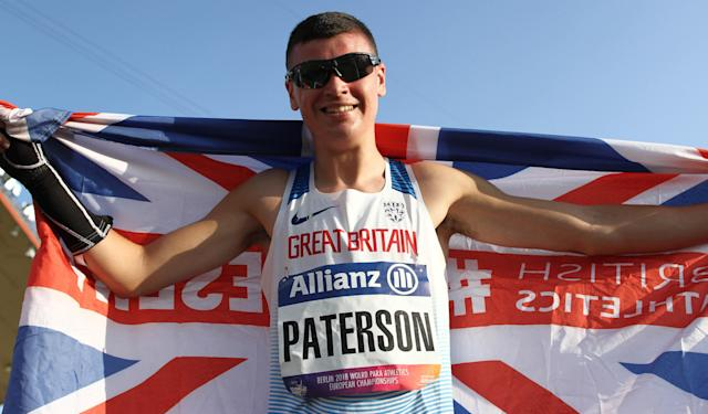 Paterson was within inches of two European medals in Berlin. Pic: Ben Booth Photography