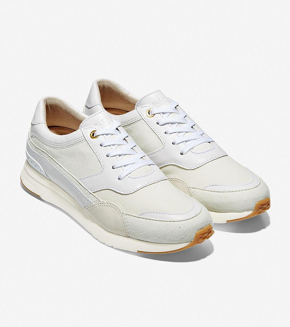 """<br><br><strong>Cole Haan</strong> GrandPrø Downtown Sneaker, $, available at <a href=""""https://go.skimresources.com/?id=30283X879131&url=https%3A%2F%2Ffave.co%2F31EcDay"""" rel=""""nofollow noopener"""" target=""""_blank"""" data-ylk=""""slk:Cole Haan"""" class=""""link rapid-noclick-resp"""">Cole Haan</a>"""