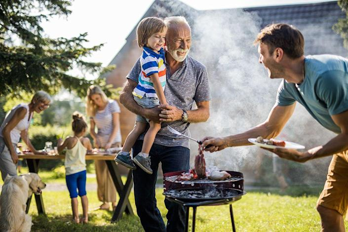 <p>Take your quarantine crew into the backyard for a fun and festive Father's Day barbecue. </p>
