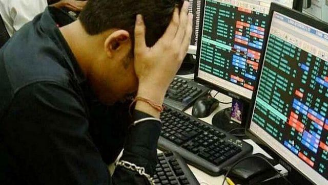 Markets open weak: Sensex drops over 300 points, Nifty tests 9,400-level in early trade ahead of GDP data; Rupee up