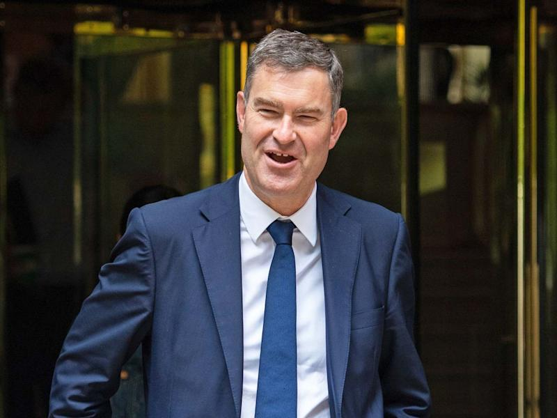 'Not so fast there, Arron', David Gauke tweets: PA