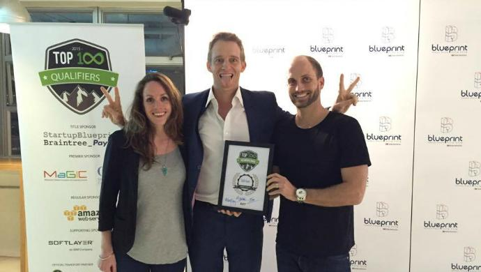 Throwback: Max Armbruster, Founder of Talkpush wins Judges' Choice award at Echelon TOP100 Hong Kong qualifier in 2015.