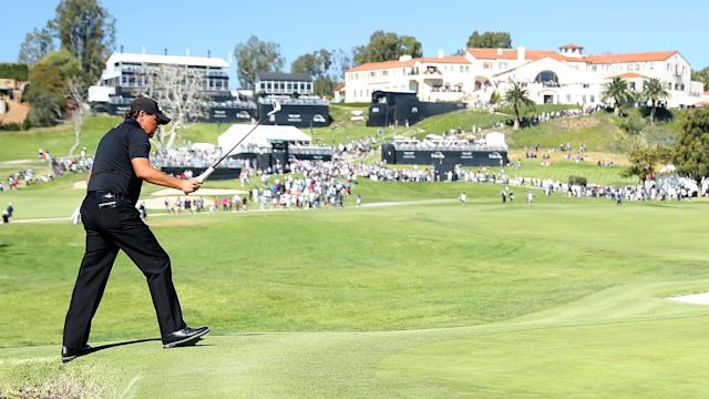 For the third straight Sunday, a valiant back-nine charge came up just short for Phil Mickelson. This time, at the Genesis Open.