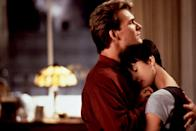 "<p>Ah, yes, the movie that weirdly made us want to take a pottery class. This paranormal love story stars a super-young Patrick Swayze as a man who comes back from the grave for his true love, played by Demi Moore. It's a classic for a reason.</p> <p><em>Available to rent on</em> <a href=""https://www.amazon.com/Ghost-Patrick-Swayze/dp/B0030F5W5K"" rel=""nofollow noopener"" target=""_blank"" data-ylk=""slk:Amazon Prime Video"" class=""link rapid-noclick-resp""><em>Amazon Prime Video</em></a><em>.</em></p>"