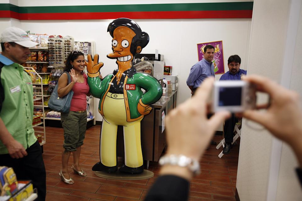 Hank Azaria stepped down from voicing Apu in January. (Photo by Michael Nagle/Getty Images)