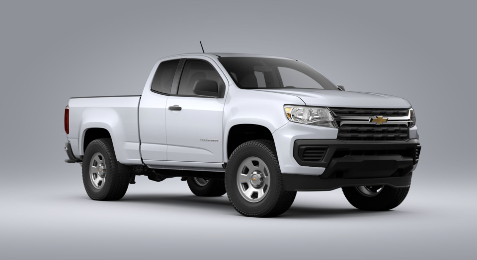 "<p><strong>Configuration: </strong>Work Truck trim level, extended cab, 4x2, rear seat delete</p><p>The <a href=""https://www.caranddriver.com/chevrolet/colorado"" rel=""nofollow noopener"" target=""_blank"" data-ylk=""slk:Chevy Colorado"" class=""link rapid-noclick-resp"">Chevy Colorado</a> is less expensive than its GMC twin, the Canyon, but not as cheap as it used to be due to some changes for 2021. The base trim has been eliminated and the models now start with the Work Truck version, which accounts for a few thousand dollars added to the bottom line. It comes with rear-wheel drive and a 2.5-liter inline-four. Deleting the rear seats drops that base price by $240, but Ford and Toyota still offer cheaper takes on the mid-size pickup.</p>"
