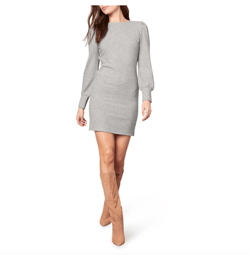 """<h2>BB Dakota Knit The Scene Dress</h2><br><strong><em>The Sweater Dress</em></strong><br><br>Nothing says fall like a classic <a href=""""https://www.refinery29.com/en-us/long-sleeve-sweater-dress"""" rel=""""sponsored"""" target=""""_blank"""" data-ylk=""""slk:long-sleeve sweater dress"""" class=""""link rapid-noclick-resp"""">long-sleeve sweater dress</a> and this cozy, ribbed style has left many a Nordstrom shopper pleased with their pick.<br><br><strong>The Hype: </strong>4.5 out of 5 stars; 24 reviews on Nordstrom.com<br><br><strong>What They're Saying</strong>: """"Amazing fall dress. This is my new favorite fall article of clothing. I would buy it in every color if they weren't sold out."""" — Ocnordstomlover, Nordstrom reviewer<br><br><em>Shop</em> <em><strong><a href=""""https://www.nordstrom.com/s/bb-dakota-by-steve-madden-knit-the-scene-long-sleeve-sweater-dress/5735256"""" rel=""""sponsored"""" target=""""_blank"""" data-ylk=""""slk:Nordstrom"""" class=""""link rapid-noclick-resp"""">Nordstrom</a></strong></em><br><br><strong>BB Dakota</strong> Knit The Scene Long Sleeve Sweater Dress, $, available at <a href=""""https://go.skimresources.com/?id=30283X879131&url=https%3A%2F%2Fwww.nordstrom.com%2Fs%2Fbb-dakota-by-steve-madden-knit-the-scene-long-sleeve-sweater-dress%2F5735256"""" rel=""""sponsored"""" target=""""_blank"""" data-ylk=""""slk:Nordstrom"""" class=""""link rapid-noclick-resp"""">Nordstrom</a>"""