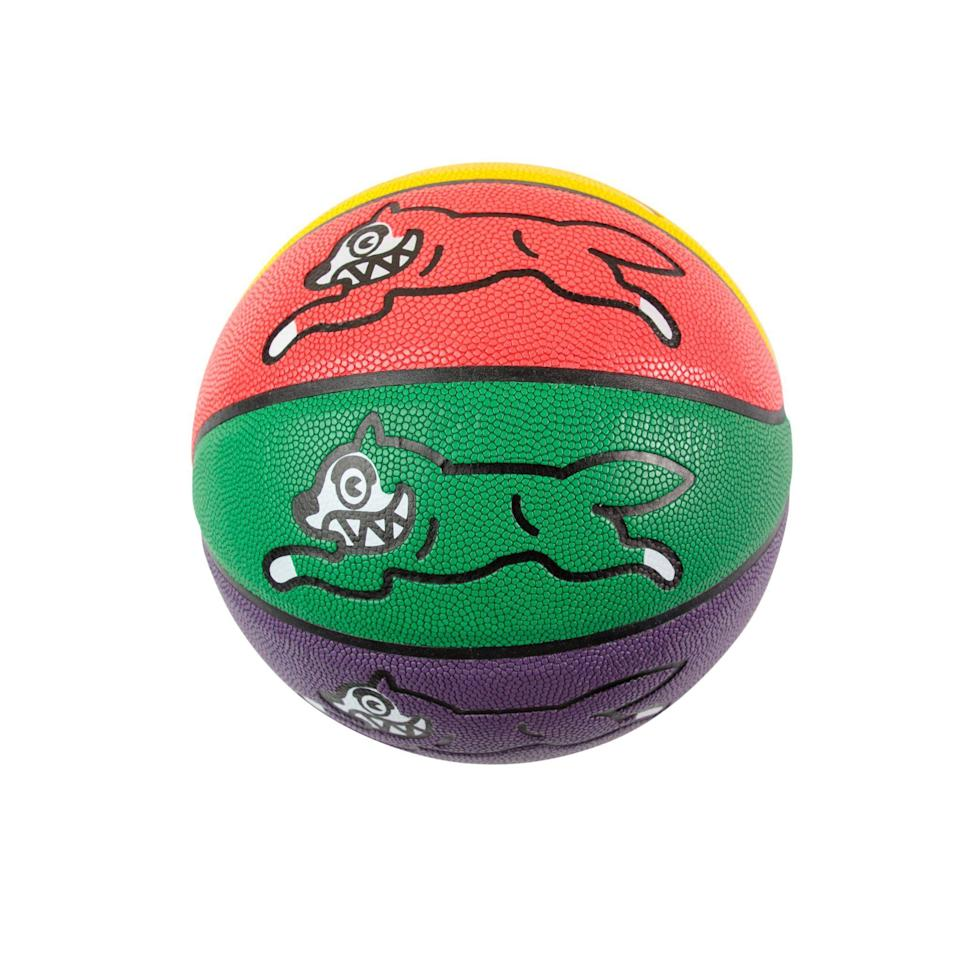 """<p><strong>ICECREAM</strong></p><p>bbcicecream.com</p><p><strong>$115.00</strong></p><p><a href=""""https://www.bbcicecream.com/collections/all/products/double-dribble-basketball-multi-su21-summer1-may"""" rel=""""nofollow noopener"""" target=""""_blank"""" data-ylk=""""slk:Shop Now"""" class=""""link rapid-noclick-resp"""">Shop Now</a></p>"""