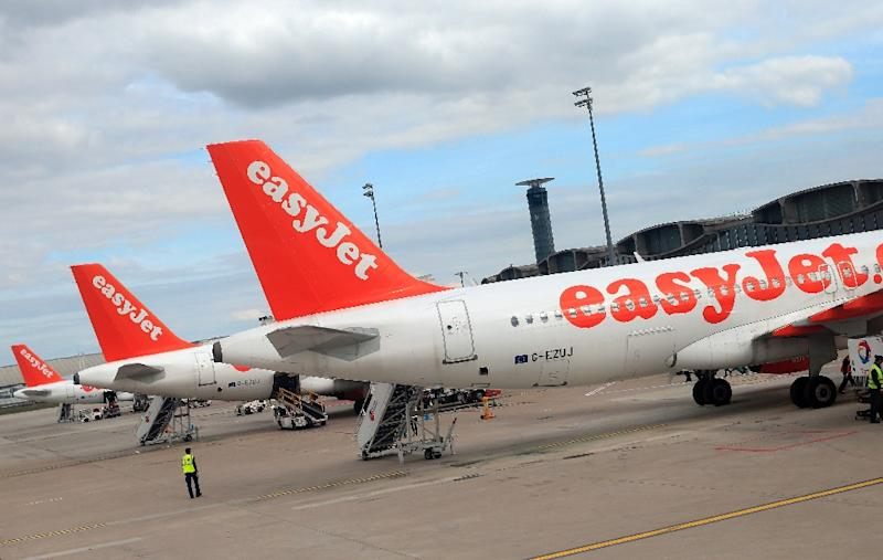 """The application for a new air operator's certificate in Austria """"will allow easyJet to establish a new airline, easyJet Europe, which will be headquartered in Vienna,"""" it said in a statement (AFP Photo/Alexander KLEIN)"""