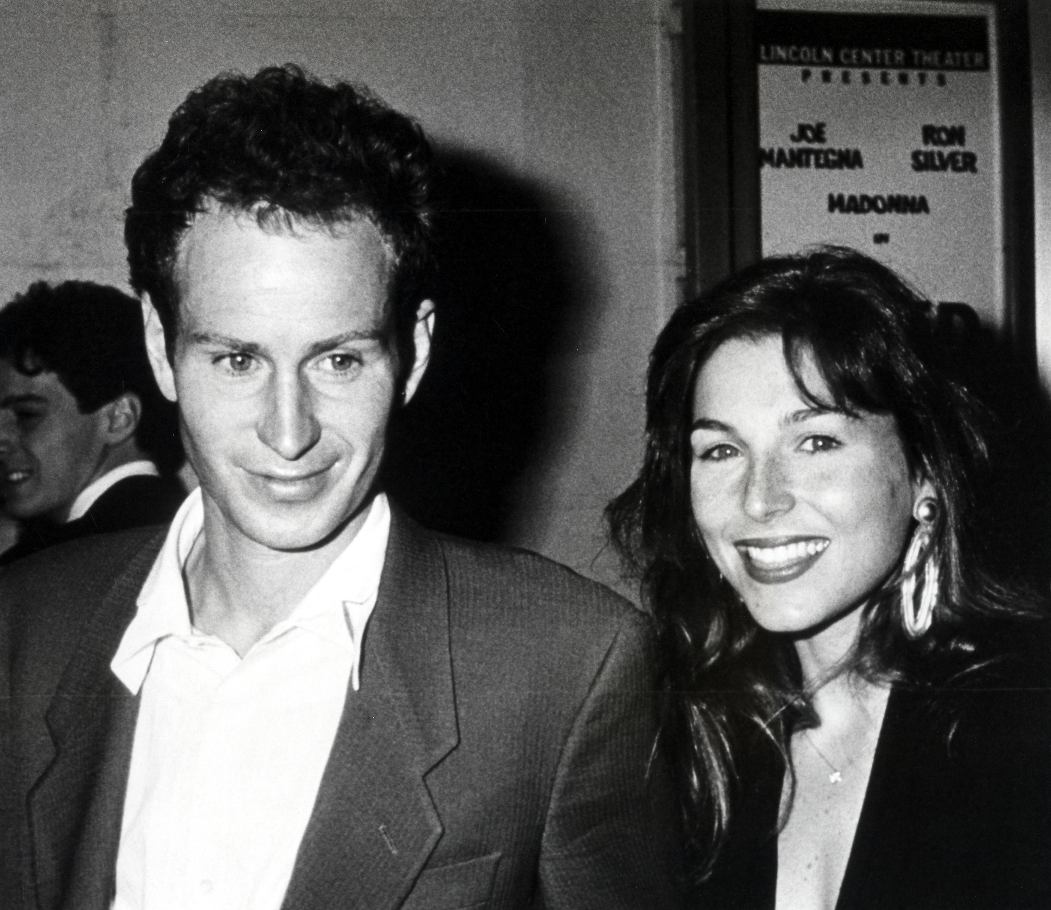 John McEnroe and Tatum O'Neal together in 1988. (Photo: Ron Galella/Ron Galella Collection via Getty Images)