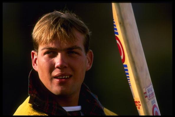 Feb 1996:  A portrait of Jaques Kallis of South Africa at the South Africa practice session during the cricket world cup in Faisalabad, Pakistan.