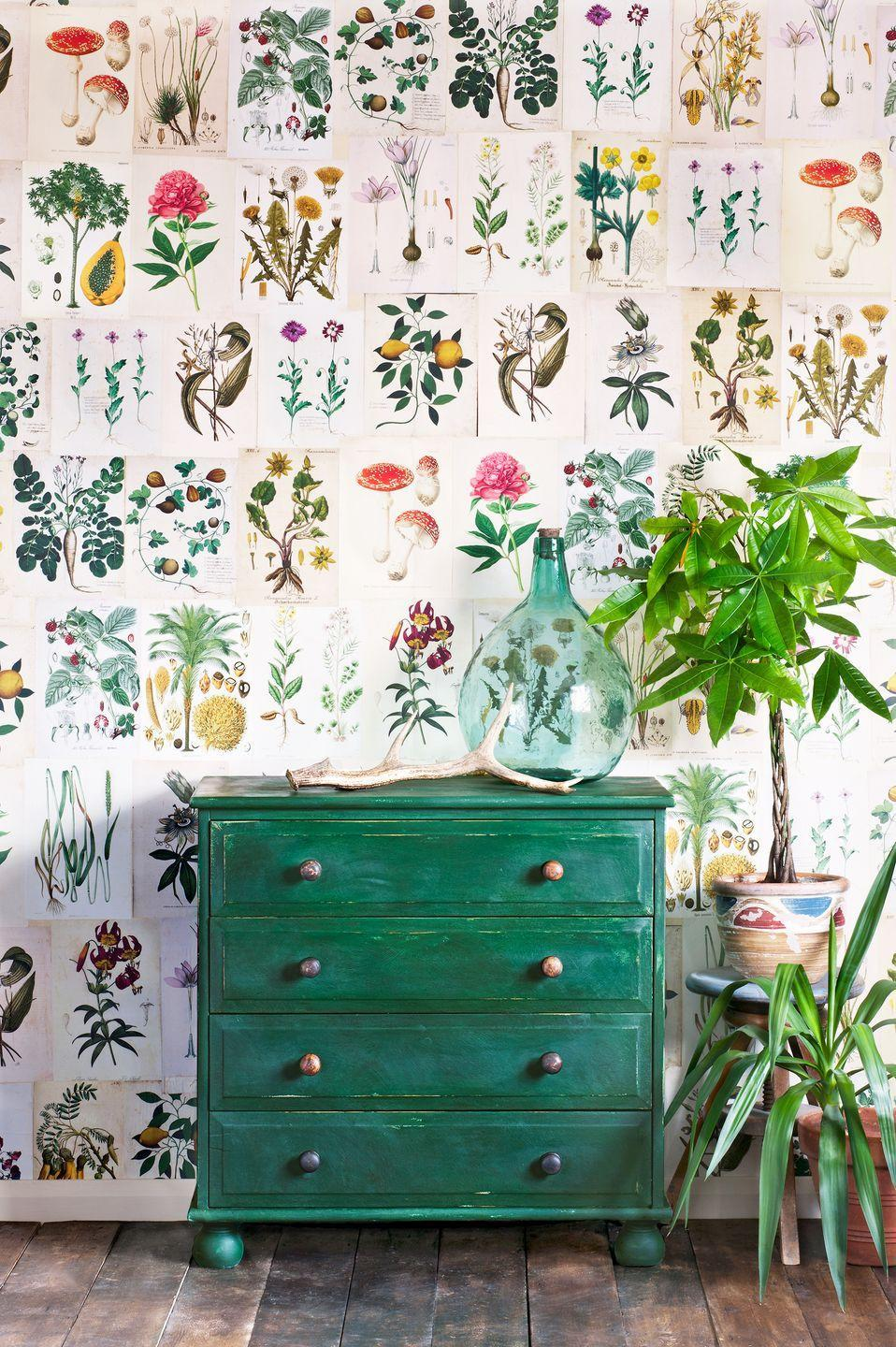 <p>You don't have to paint the whole room to get in on the fun. This chest is given a lived-in look with Chalk Paint® in Amsterdam Green. </p>