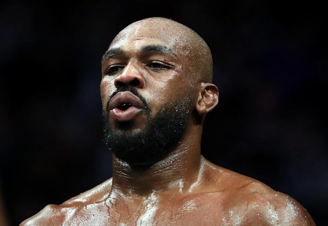 Jon Jones ramped up his dispute with Dana White on Monday. (Photo by Ronald Martinez/Getty Images)