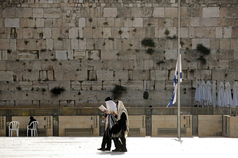 FILE PHOTO: Israel observes a day of mourning after dozens were crushed to death at a religious festival