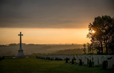 """""""It's probably lunacy to go to the First or Second World War sites on anything other than an escorted tour"""" - Credit: 2016 Getty Images/Matt Cardy"""