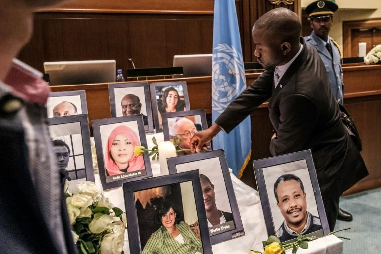 Victims of the Ethiopian Airlines crash on a Boeing 737 MAX were commemorated by the United Nations in Addis Ababa, Ethiopia soon after the March 2019 calamity