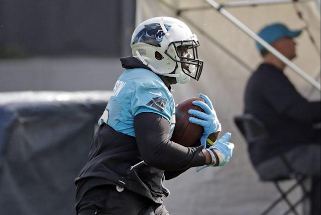 C.J. Anderson's Carolina contract is loaded with incentive clauses (AP photo)