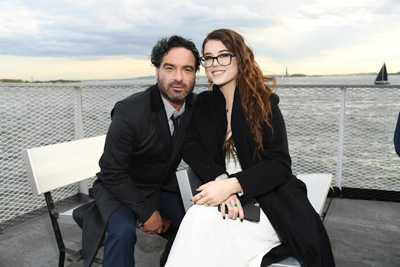 NEW YORK, NEW YORK - MAY 15: Johnny Galecki and Alaina Meyer attend the Statue Of Liberty Museum Opening Celebration at Battery Park on May 15, 2019 in New York City. (Photo by Kevin Mazur/Getty Images for Statue Of Liberty-Ellis Island Foundation)