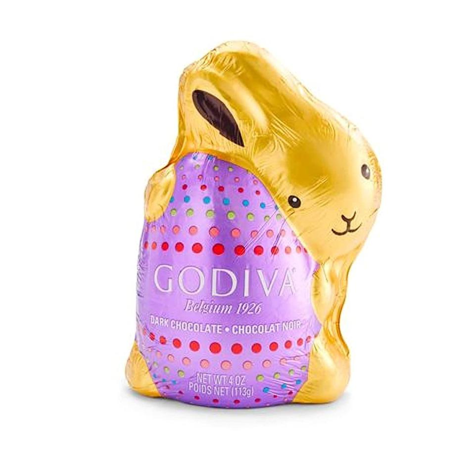 """<p><strong>Godiva</strong></p><p>walmart.com</p><p><strong>$24.52</strong></p><p><a href=""""https://go.redirectingat.com?id=74968X1596630&url=https%3A%2F%2Fwww.walmart.com%2Fip%2F208879961&sref=https%3A%2F%2Fwww.thepioneerwoman.com%2Ffood-cooking%2Fg35452335%2Fbest-chocolate-bunnies%2F"""" rel=""""nofollow noopener"""" target=""""_blank"""" data-ylk=""""slk:Shop Now"""" class=""""link rapid-noclick-resp"""">Shop Now</a></p><p>This dark chocolate Easter bunny is pretty dang adorable. Because it's Godiva Belgian chocolate, you can bet it will taste super-rich. </p>"""