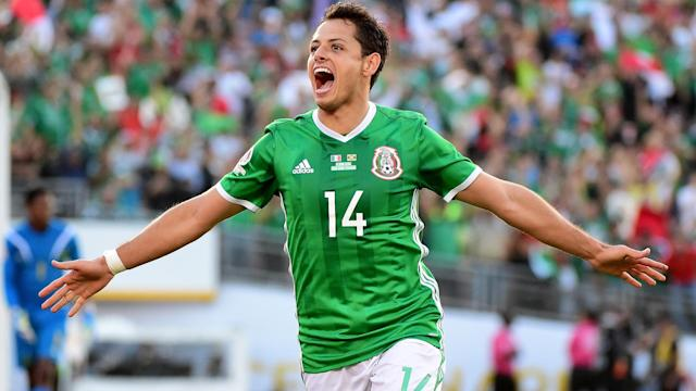 Mexico continued their strong start to the fifth round of World Cup qualifying as Javier Hernandez helped them past Costa Rica.