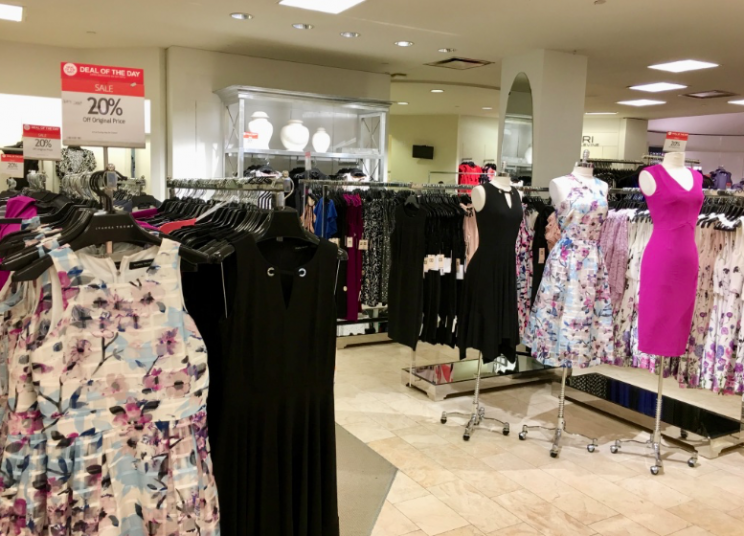 Ivanka Trump dresses on display at Macy's in Herald Square, NYC (Melody Hahm)