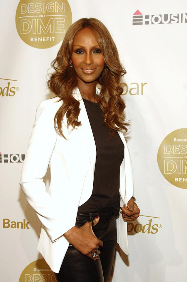 """Model Iman turns 56. Marc Stamas/<a href=""""http://www.gettyimages.com/"""" target=""""new"""">GettyImages.com</a> - May 5, 2011"""