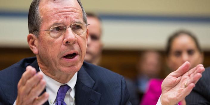 Retired Adm. Mike Mullen, former Chairman of the Joint Chiefs of Staff