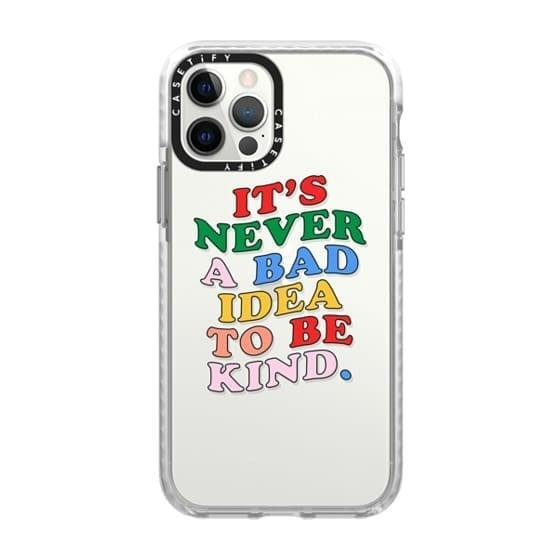 <p>Keep their phone protected with this <span>Casetify Be Kind iPhone Case</span> ($55).</p>
