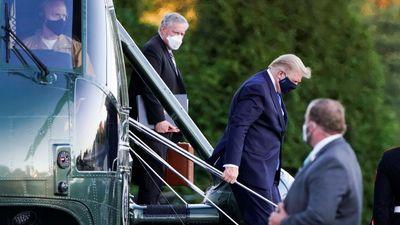 Trump coronavirus: Confusion over president's diagnosis as it emerges vital signs 'concerning' before hospital admission