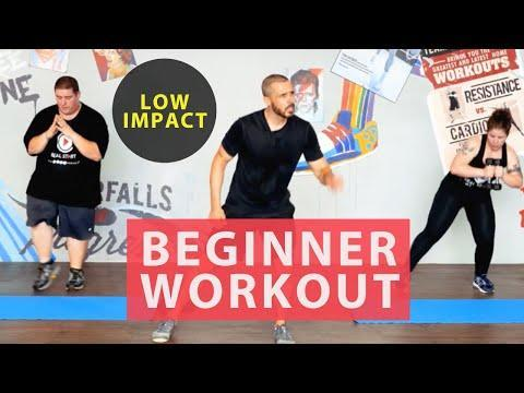 "<p>Low-impact and achievable, this workout is brilliant for people getting started after a little time away from working out. </p><p><strong>Equipment: </strong>None, dumbbells optional</p><p><a href=""https://www.youtube.com/watch?v=gC_L9qAHVJ8&ab_channel=BodyProject"" rel=""nofollow noopener"" target=""_blank"" data-ylk=""slk:See the original post on Youtube"" class=""link rapid-noclick-resp"">See the original post on Youtube</a></p>"