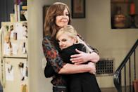 """<p><b>This Season's Theme:</b> """"It's the theme of the series, which is, specifically, women in recovery from alcohol and drug addiction trying to get on with their lives,"""" says co-creator Chuck Lorre. <br><br><b>Where We Left Off:</b> Christy (Anna Faris) was stressed over her college bills, so Bonnie (Allison Janney) sold her granddaughter Violet's (Sadie Calvano) pricey wedding dress to help with the tuition. On the heels of her broken engagement, Violet decided to quit school to be a blackjack dealer at a casino in Lake Tahoe. <br><br><b>Coming Up:</b> Bonnie's beau, Adam (William Fichtner), will be back. """"They're actually going to be living together for a while and dealing with the difficulties of that,"""" Lorre says. """"He's a regular guy. He drinks, he smokes pot. He's not an addict … and trying to negotiate a relationship with a woman who's in recovery is tricky. There's a bridge for them to cross in terms of understanding each other."""" Rosie O'Donnell also returns as Bonnie's former fling, Jeanine, and Christy will have a moral dilemma over whether to jump ship on her dream to get a law degree. <br><br><b>Still Recovering:</b> Last season's storyline about Jodi's (Emily Osment) overdose death still has the <i>Mom</i> crew reeling from the """"emotional whiplash,"""" says Lorre. """"It was a difficult thing to do. I'm glad that we did it, [but] it's extremely difficult, even in the world of make-believe."""" <i>– VLM</i> <br><br>(Credit: Darren Michaels/CBS)</p>"""