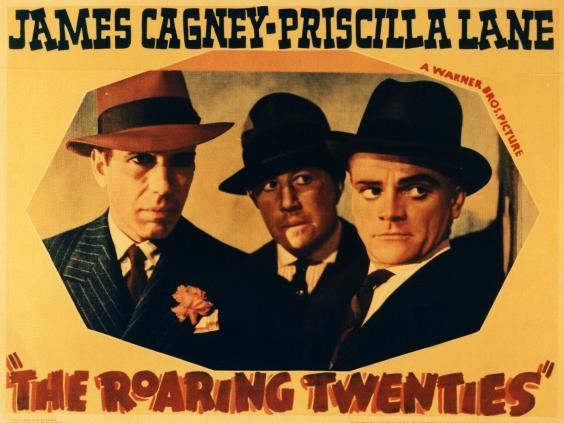 Sharp suits and even sharper dialogue with Bogart, Frank McHugh and Cagney (Rex)