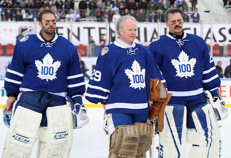 Generations Of Maple Leafs Goalies Collide At Centennial Classic