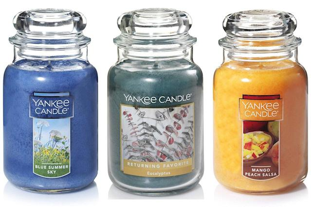 Yankee Candles Are Up To 50 Off On Amazon But Only For 24 Hours