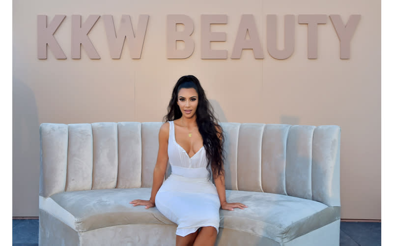 <p>Famed for introducing the world to the art of contouring, Kim Kardashian West tactfully launched KKW Beauty off the back of her success. In June 2017, the social media mogul sold 300,000 creme contour kits within two hours. According to Forbes, the business has already garnered $100 million in revenue. <em>[Photo: Getty]</em> </p>
