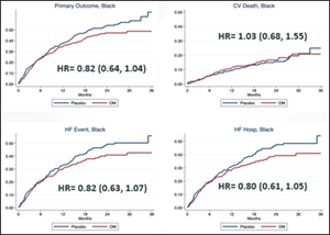 Primary Outcome in Black Patients Enrolled in GALACTIC-HF