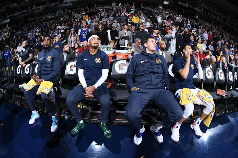 Nikola Jokic might need multiple co-stars to submit stellar performances for the Nuggets to survive out West. (Getty Images)