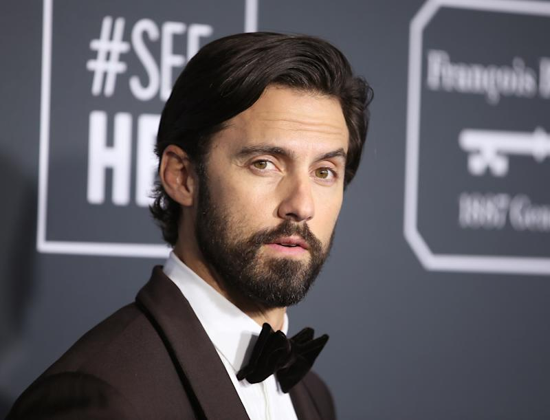 24th Critics Choice Awards - Arrivals - Santa Monica, California, U.S., January 13, 2019 - Milo Ventimiglia. REUTERS/Danny Moloshok