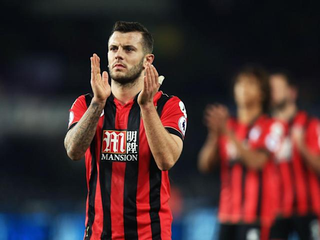 Arsenal have yet to hold talks with Wilshere over a new contract (Getty)