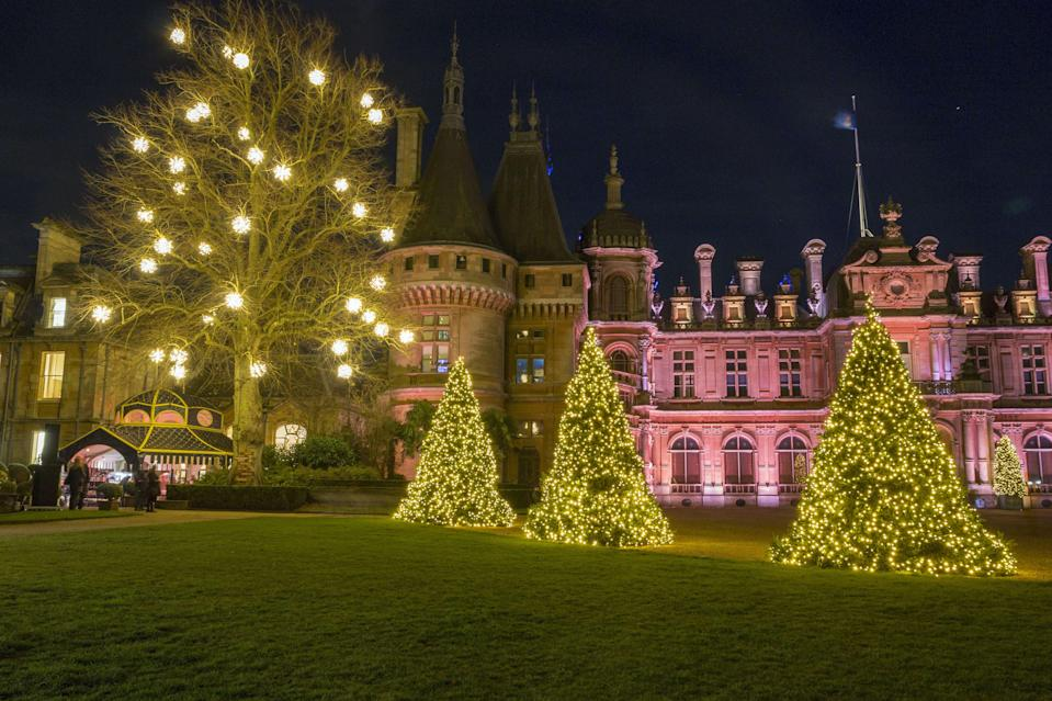 <p>Waddesdon Manor lights up for Christmas, picnics go gourmet and a selection of Royal jewellery goes up for auction…</p>