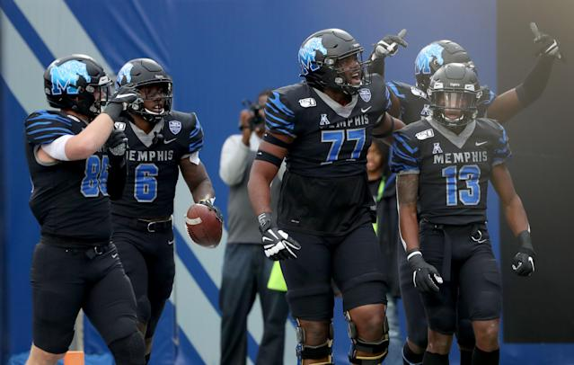 Memphis is heading to the AAC title game. (Photo by Joe Murphy/Getty Images)