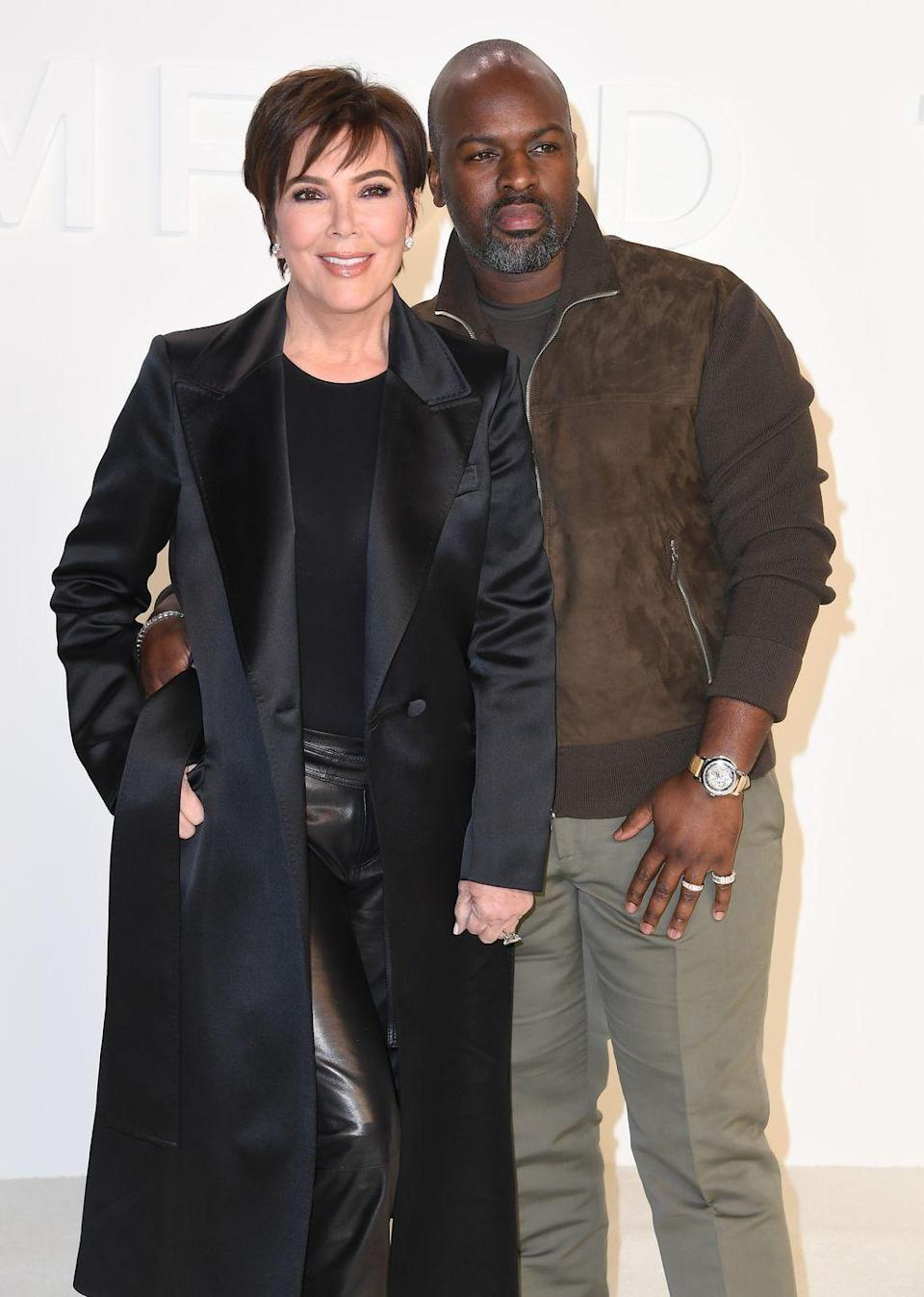 <p><strong>Age gap:</strong> 25 years</p><p>Kris, 64, and Corey, 39, have been dating since roughly 2014, after the momager split with longtime spouse Caitlyn Jenner, parent to both Kendall and Kylie. While Corey gets along with almost everyone in the Kardashian family, there's been some drama with him and Kourtney after he tried to give her parenting advice. Yikes! </p>